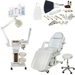 11 in 1 Facial Machine Towel Warmer Electric Massage Table C