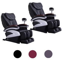BestMassage 2 Full Body Massage Chair Recliner w/Back Roller