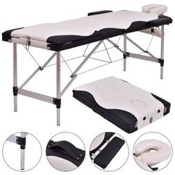 "72"" L Portable Massage Table SPA Beauty Bed Tattoo with Carr"