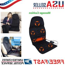 8 Mode Body Massage Electric Car Seat Cushion Back Relief Ch