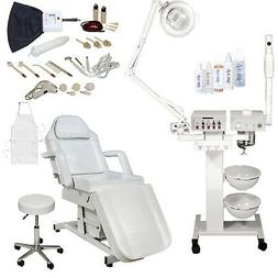 9 in 1 Facial Machine Electric Massage Table Chair Spa Beaut