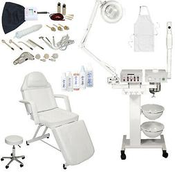 9 in 1 Facial Machine Stationary Massage Table Chair Spa Bea
