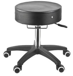 Master Massage 91552 Rolling Stool in Black