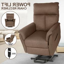 Auto Electric Power Lift Massage Recliner Chair Heat Vibrati