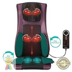 Naipo Back and Neck Massager Shiatsu Massage Chair Seat Cush