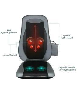 Naipo Back Massager Chair Shiatsu Massage Seat Cushion with