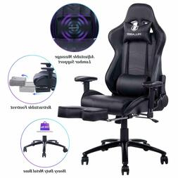 KILLABEE Big and Tall 350lb Massage Memory Foam Gaming Chair