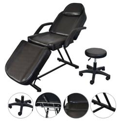 black facial bed salon barber chair sheet