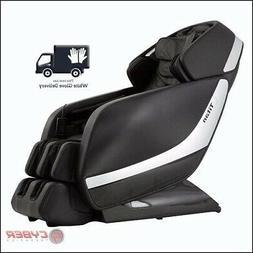 Black Titan Pro Jupiter XL Extra Large Massage Chair Heat 3D