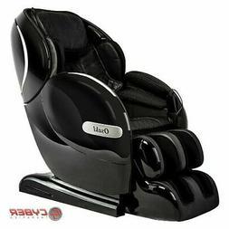 Black Osaki OS-Monarch L-Track Heated Therapy Bluetooth Zero