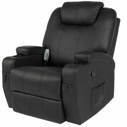Chair Massage Recliner Sofa Heated W/Control Ergonomic Execu