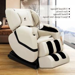 deluxe full body shiatsu massage chair recliner