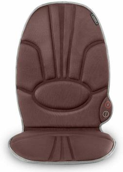 Deluxe Massage Cushion Chair Pad Seat w/ Heat Back Massager