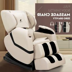 Deluxe Full Body Shiatsu Massage Chair ZERO GRAVITY Recliner
