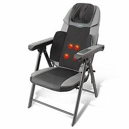Electric Foldable Shiatsu Massage Chair - Neck Back Waist Po