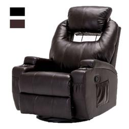 Electric Massage Chair Recliner Sofa Leather Vibrating Heate