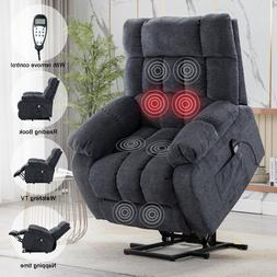 Electric Massage Lift Recliner Chair Oversized Heated Vibrat