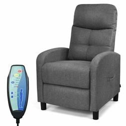 Electric Massage Recliner Chair w/Remote Control 5 Modes Sid