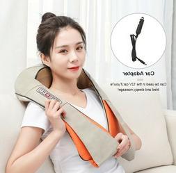 Electric Neck Shoulder Massager Pillow leg Body Chair Car SP