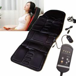 Electric Seat Massage Chair Pad Heat Office/Car Cushion Back