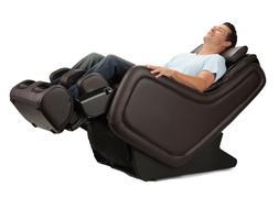 Espresso ZeroG 5.0 Massage Chair Zero Gravity Recliner by Hu