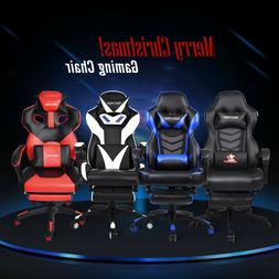 Video Gaming Chair Executive Swivel Racing Style Desk Task O