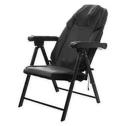 Sharper Image Foldable Massage Chair, Shiatsu Back Massager,