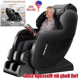 Full Body Air Massage Chair - S Track - Zero Gravity Shiatsu
