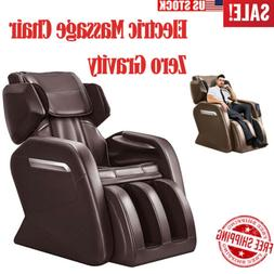 Full Body Electric Massage Chair with Heat Zero Gravity Foot