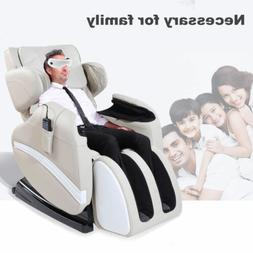 Full Body Massage Chair Zero Gravity Recliner w/Heat Stretch
