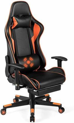 Giantex Gaming Chair Massage Racing Style High Back Ergonomi