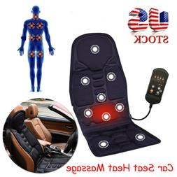 Gift Heated Back Massage Chair Cushion Massager Car Seat Pad