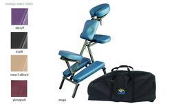 NRG Grasshopper Portable Massage Chair w/Case - # 2180003XX-
