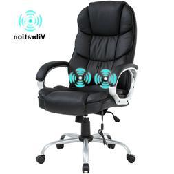 Home Office MASSAGE Desk Computer Chair, Ergonomic Design wi
