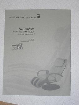 Human Touch HTT-10-CRP Massage Chair Recliner Instruction Ma