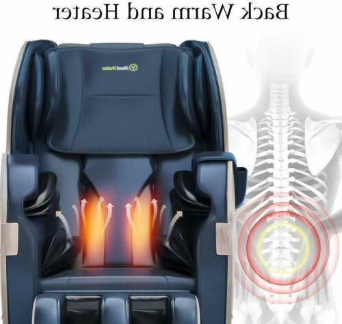 3yrs Warranty Full Shiatsu Massage Chair Recliner ZERO Foot Roller
