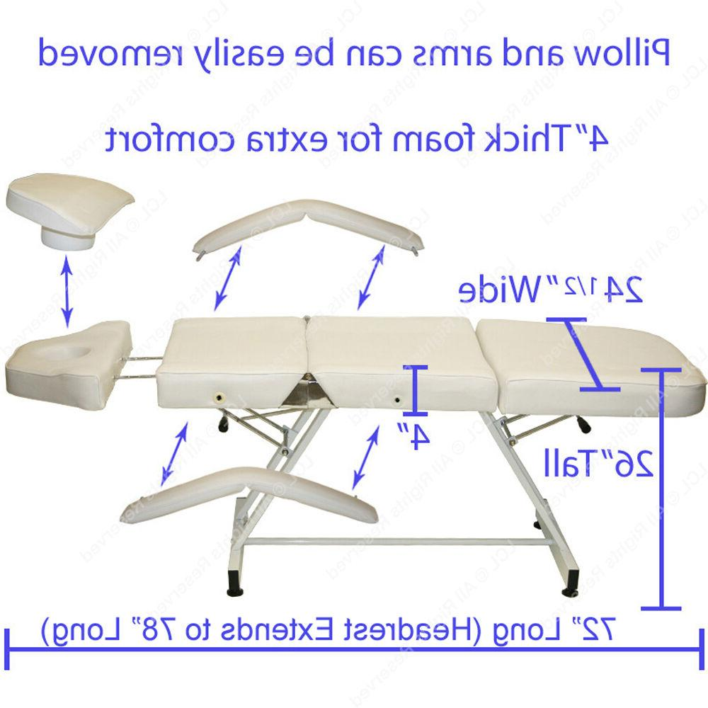 Professional Table Bed Chair Salon Equipment