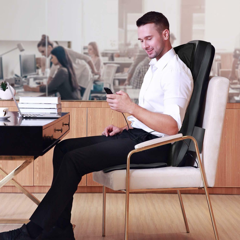 Back Neck Massage Chair 3D Pressure Vibration