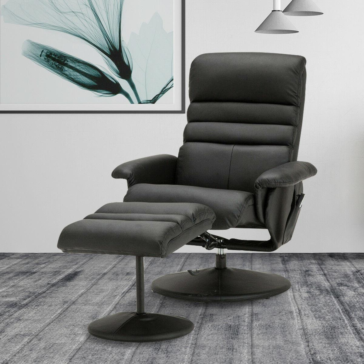 Electric Faux Leather Recliner Chair Gaming Massage Chair wi