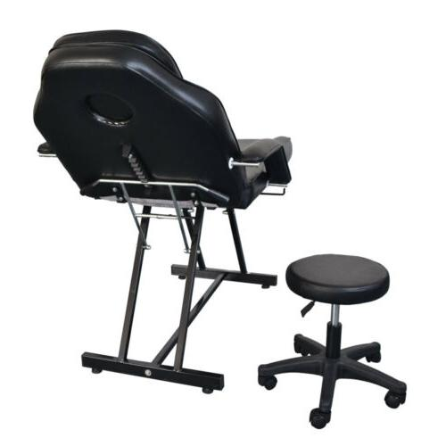 Barber Chair Sheet Set Spa w/Tattoo & Stool