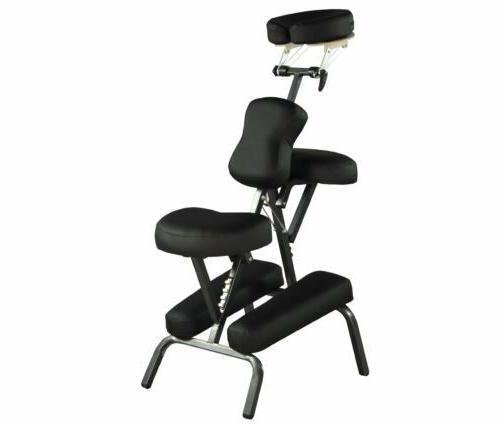 black new bestmassage 4 portable massage chair
