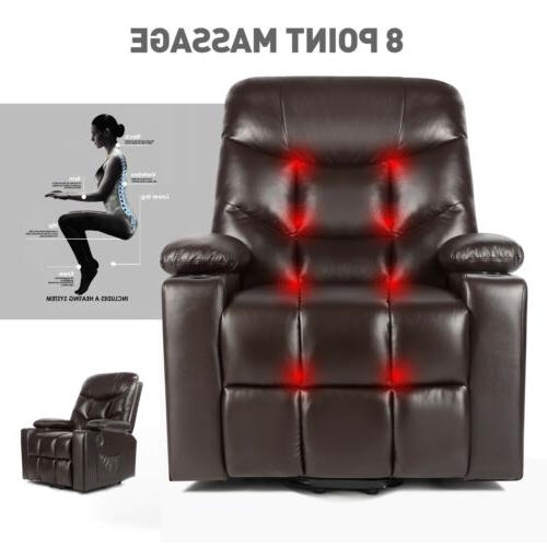 Brown Auto Electric Power Lift Massage Chair