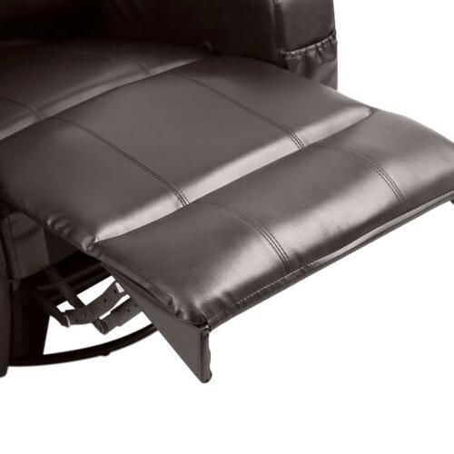 Brown Chair Lounge Leather Sofa Heat