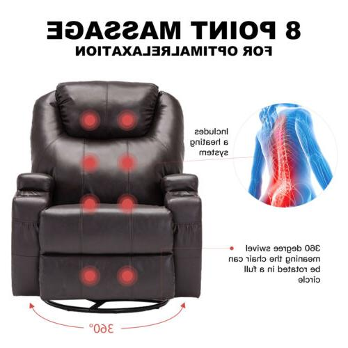 Electric Sofa Chair Lounge Heated with