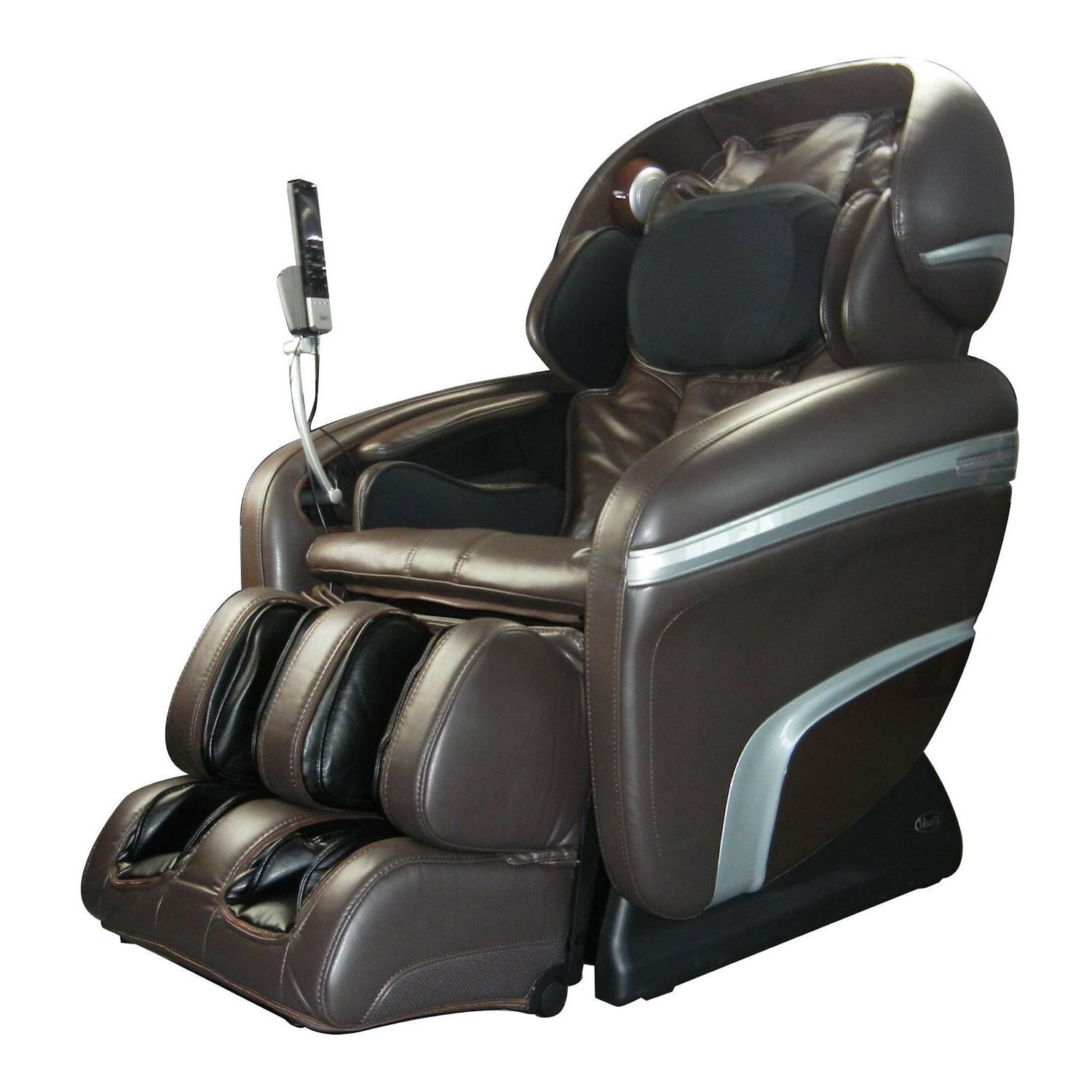 TITAN Luggage USA Osaki Brown Massage Chair
