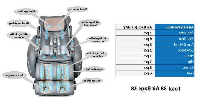 Osaki OS-4000 Cream Zero Gravity Massage +