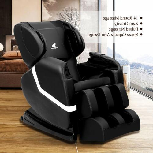 Deluxe Massage Recliner with Foot