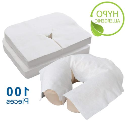 disposable massage headrest face covers 100ct medical
