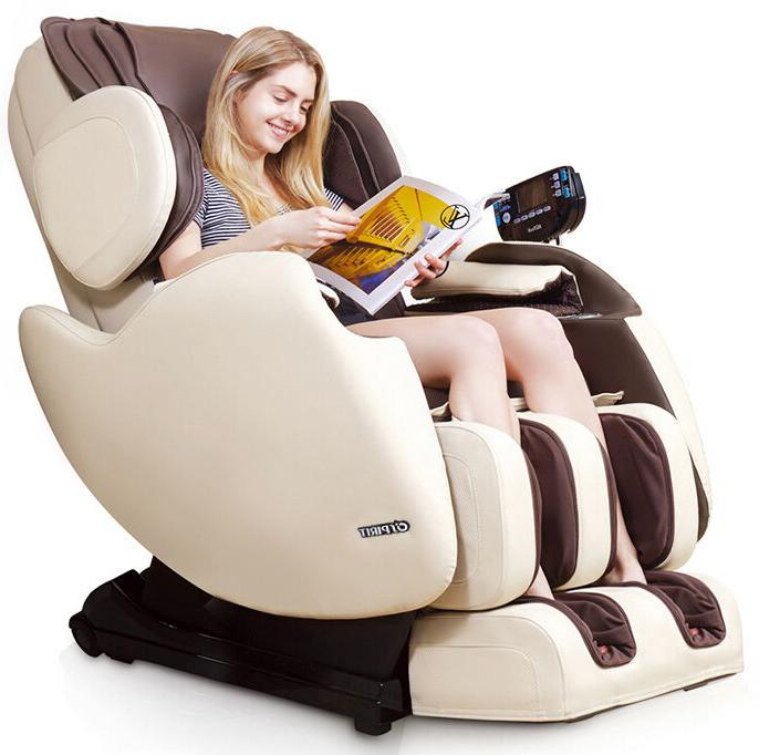 Electric Full Massage Chair Zero Gravity Straight