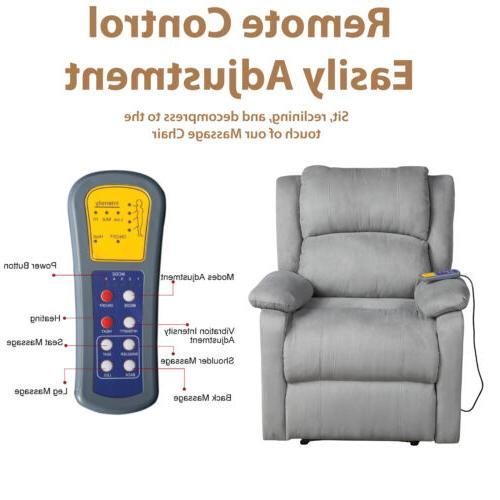 Electric Body Zero Gravity Massage Chair Recliner Heat